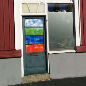 Door with 4 elements