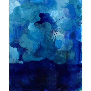 Blue Landscape 03